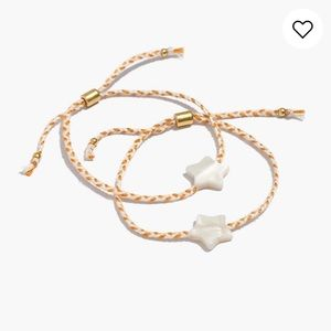 Madewell Tungsten Glow Friendship Bracelets NWT